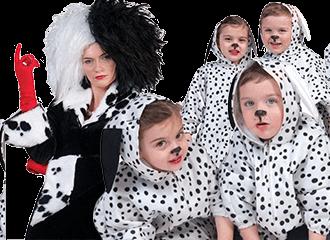 101 Dalmatiers Kostuums