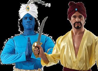 Aladdin Kostuums