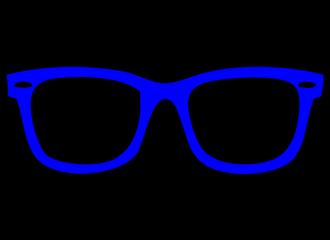 Blauwe Brillen