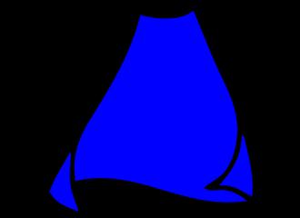 Blauwe Capes