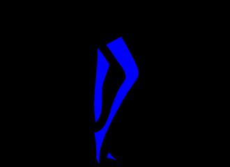 Blauwe Kousen