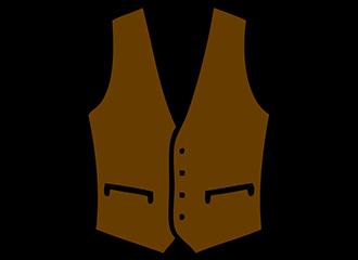 Bruine Gilets