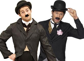 Charlie Chaplin Kostuums