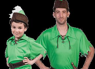 Peter Pan Kostuums