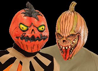Pompoen Maskers