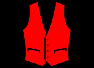 Rode Gilets