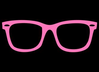 Roze Brillen