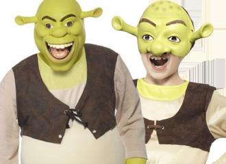Shrek Kostuums