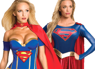Superwoman & Supergirl Kostuums