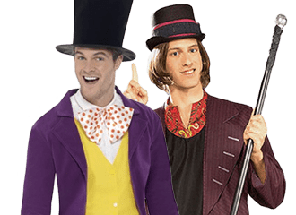 Willy Wonka Kostuums