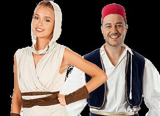 Woestijn Kostuums