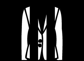 Zwart Witte Colberts
