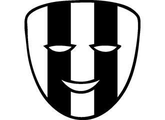 Zwart Witte Maskers